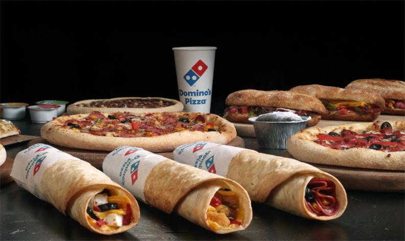 """Domino's Pizza'nın yeni ürünü: """"Dürümos"""""""