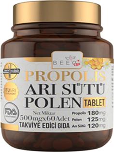 Propolis, arı sütü ve polen tek tablette