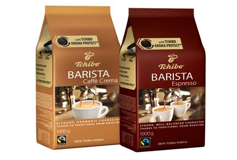 Tchibo Barista Espresso ve Caffé Crema