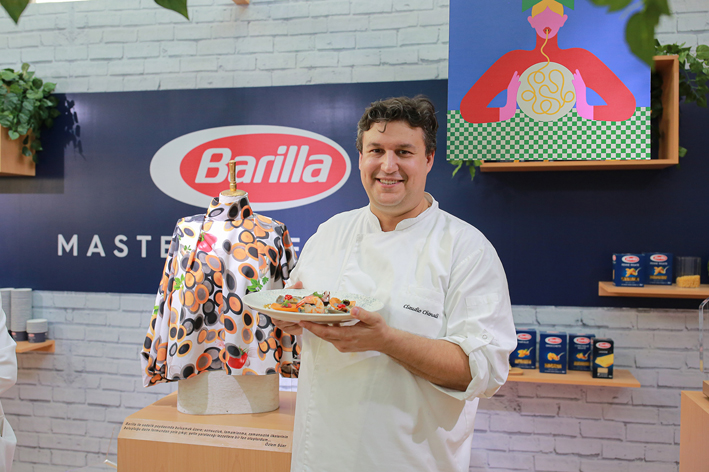 Barilla, Gastromasa'da makarnayla sanatı buluşturdu