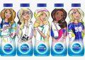 Nestlé Pure Life Barbie kariyer serisi şişeler