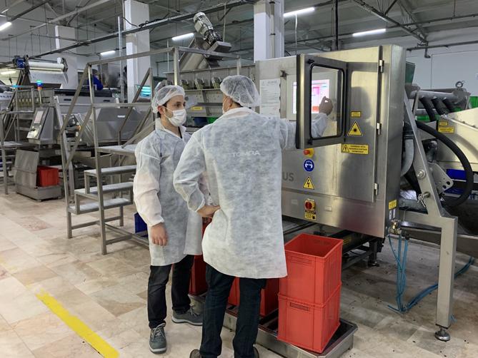 Tomra Food, pandemi sürecinde gıda işleyicilerinin verimliliğini destekledi