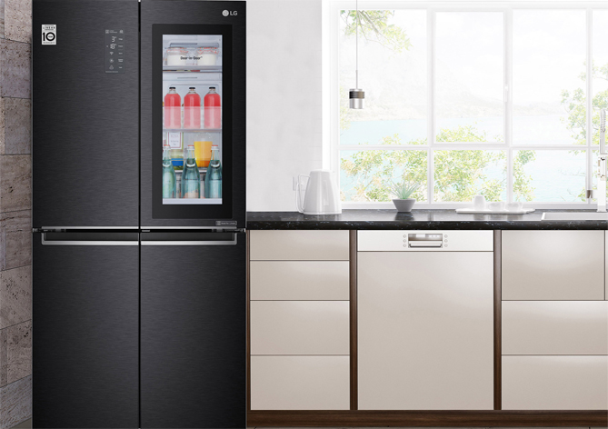 LG InstaView Buzdolabı kazandırıyor