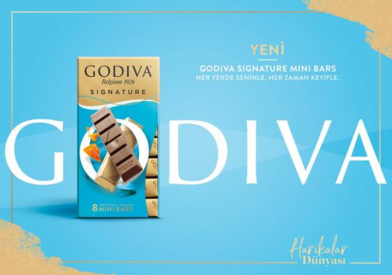 Godiva'nın yeni lezzet serisi: Signature Mini Bars
