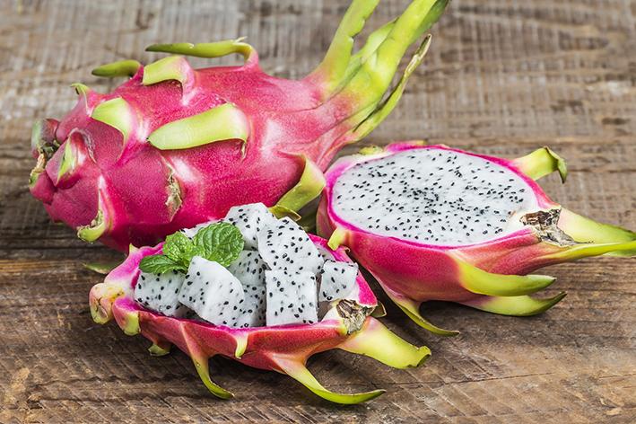 Bağışıklığı güçlendiren pitaya meyvesi inovasyonla özel karışıma dönüştü