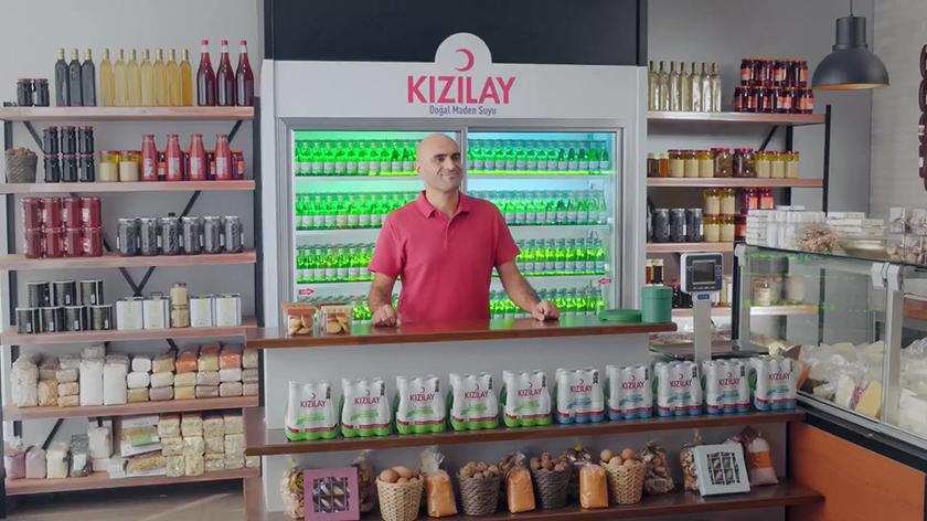 Kızılay Maden Suları'nın yeni reklam filmi yayında