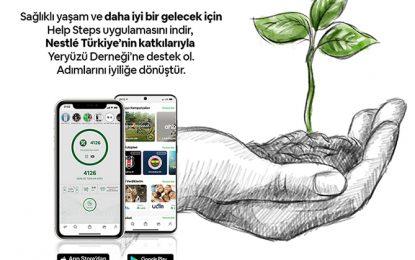 Nestlé Türkiye gönüllülerinden Help Steps ile 20 milyon adım bağışı