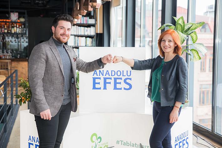 Anadolu Efes 2 milyon tohum topunu doğa ile buluşturuyor
