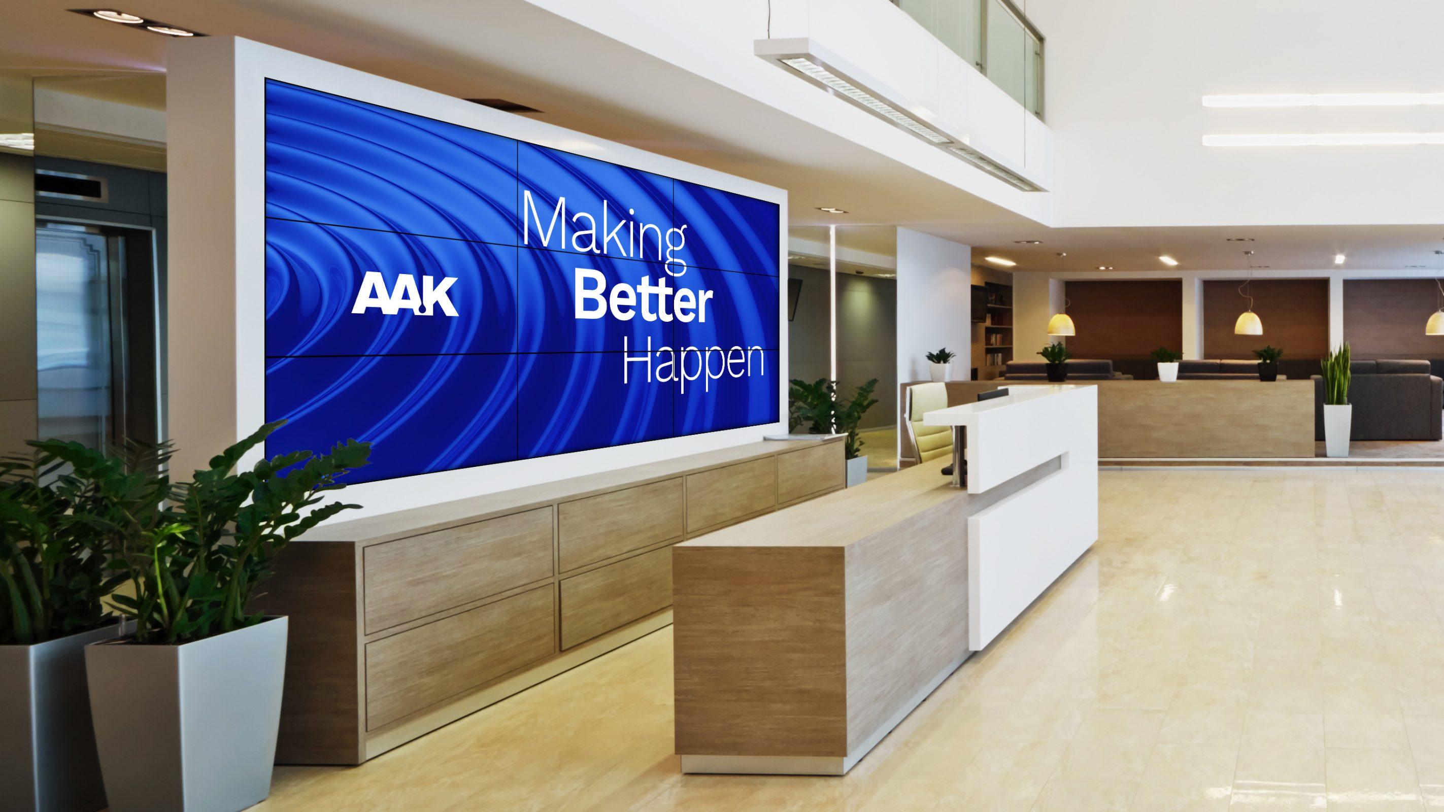 AAK yeni şirket amacı ve kurumsal kimliğini gün yüzüne çıkartıyor
