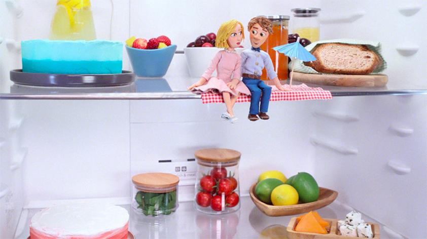 Siemens'ten dünyanın buzdolabı ile çekilen ilk filmi: Piknik