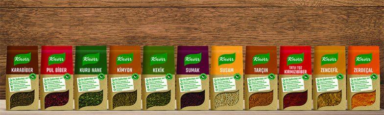 Knorr Yeni Baharat Ailesi